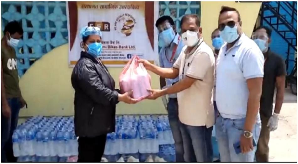 Medical Goods Handover to Bhim Hospital
